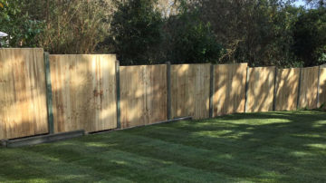 "Garden Fencing Repairs, Fence Panel Replacement, Repair Storm Damaged Fences, Poole, Bournemouth - Call <span style=""color: #769e00;"">07878 756022</span>"