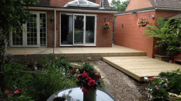 Garden Decking - Poole, Bournemouth, Dorset